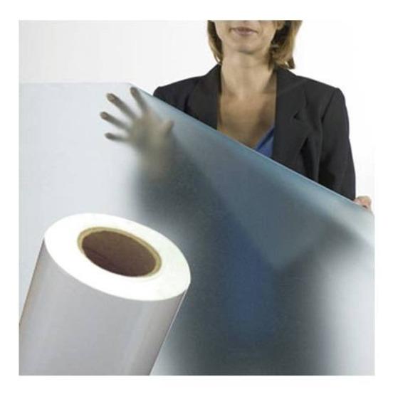 Adesivo Jateado Box Banheiro, Janela, Vidro 1m X 50cm