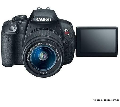 Canon T5i (eos Rebel T5i) + Lente + Brinde