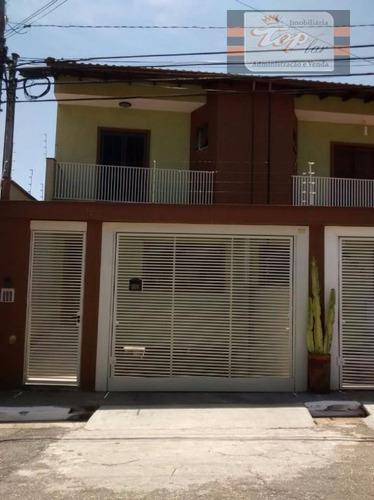Sobrado Com 3 Dormitórios À Venda, 180 M² Por R$ 600.000,00 - Vila Pereira Barreto - São Paulo/sp - So0370