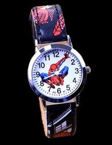Relógio Homem Aranha Pulseira Preto Rg010c Promoção!!!