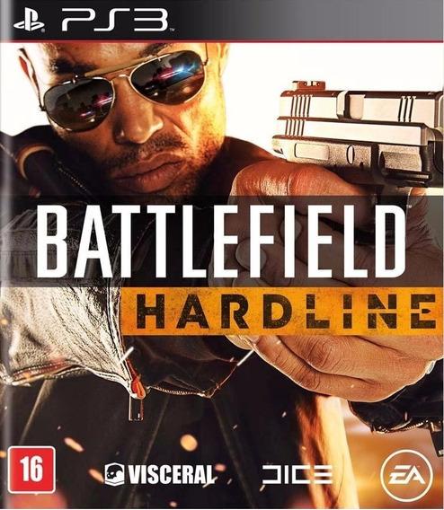 Battlefield Hardline Ps3 Mídia Física Lacrado Pt Br