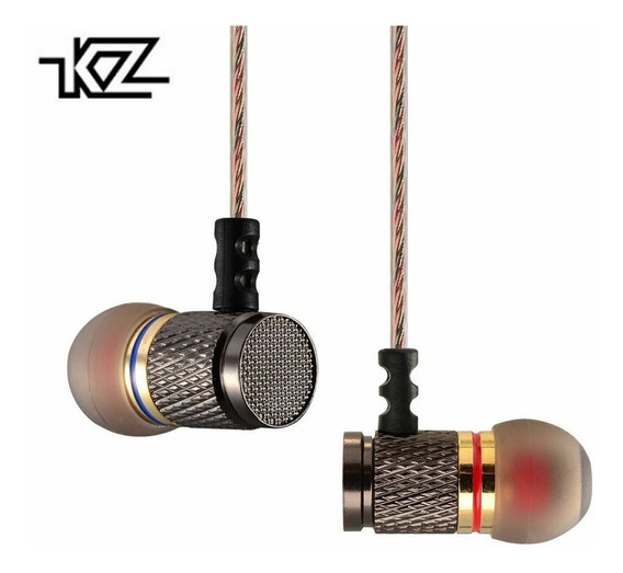 Fone Kz Edr1 In Ear Retorno De Palco Celular Esporte Pro