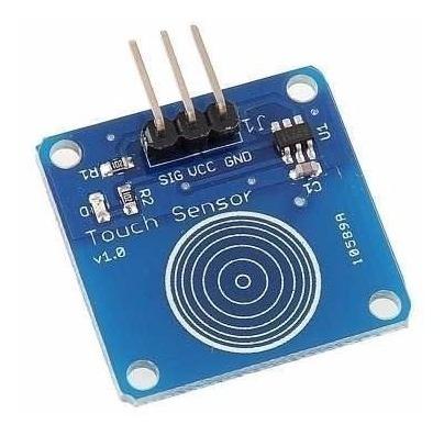 Módulo Sensor De Toque Capacitivo Arduino Pic Avr Arm Rasp