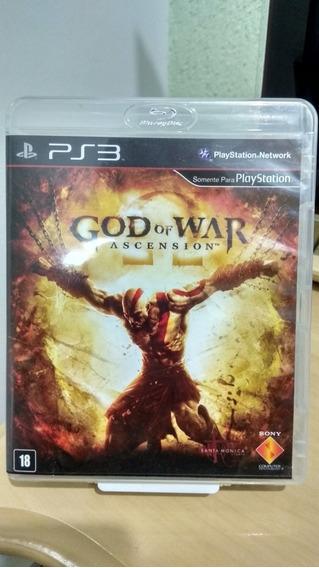 God Of War Ascension Ps3 Usado Português