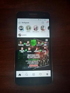 Celular Moto G5 Plus Con Funda Incluida.
