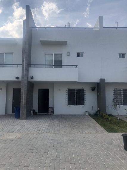 Casa Coto Privado Con Terraza/alberca, 3 Recamaras.
