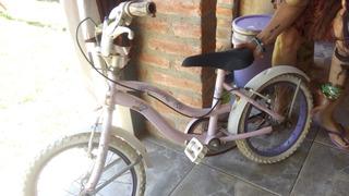 Bicicleta Usada Rodado Pequeño Nena