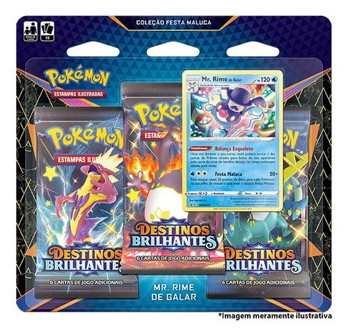 Card Game Pokémon Destinos Brilhantes Mr. Rime De Galar