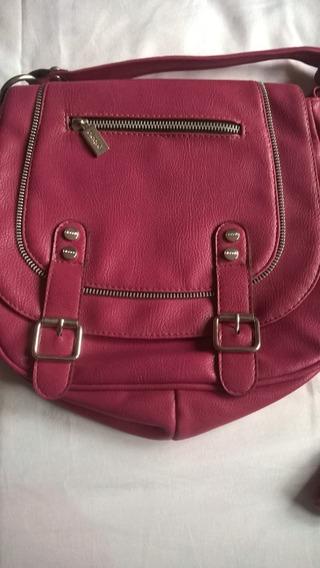 Cartera Bandolera Blaque Color Rosa Usada