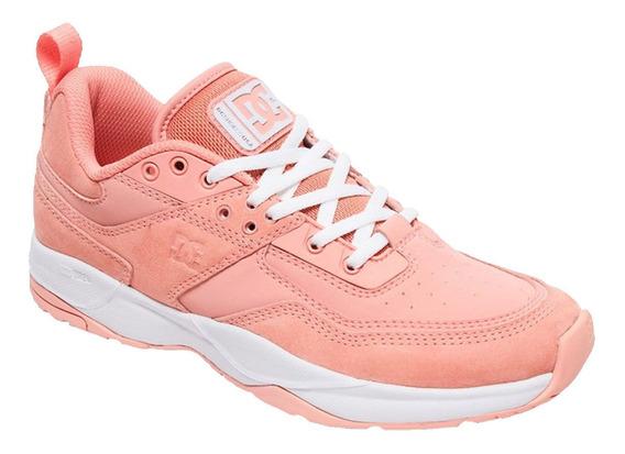 Tenis Mujer Calzado E.tribeka Adjs200015-crl Coral Dc Shoes