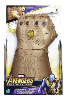 Thanos Guante Electronico Luz Sonido Hasbro E1799 Full Edu