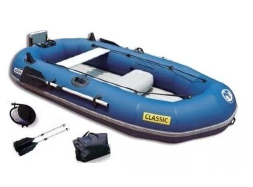 Bote Gomon Aqua Marine Classic-inflable + Accesorios  New