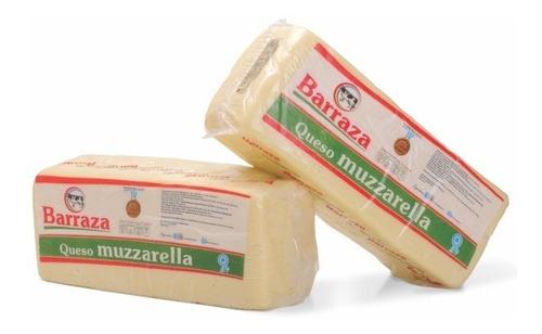 Muzzarella Barraza Plancha De 5 Kilos