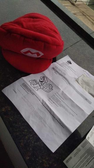Chapéu Boina Do Mario Original Nintendo Club Europeu