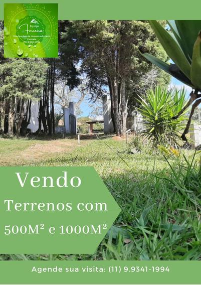 Vendo Terrenos, Pequena Entrada + Parcelas De R$ 625,00