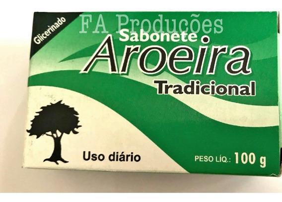 Sabonete De Barra Aroeira 12 Unidades 100 Gramas Cada