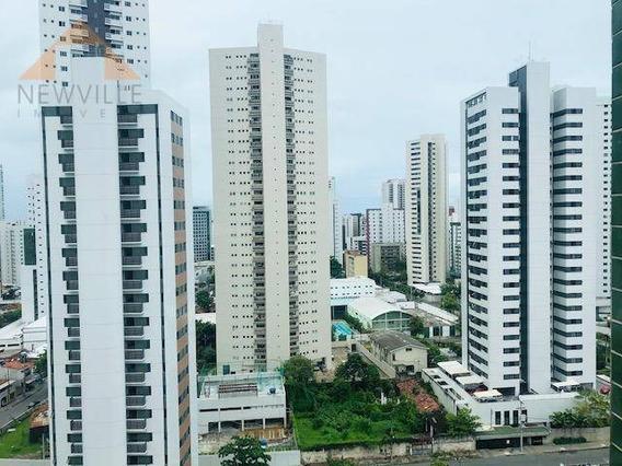 Apartamento Com 1 Quarto À Venda, 30 M² Por R$ 199.000 - Pina - Recife/pe - Ap2233