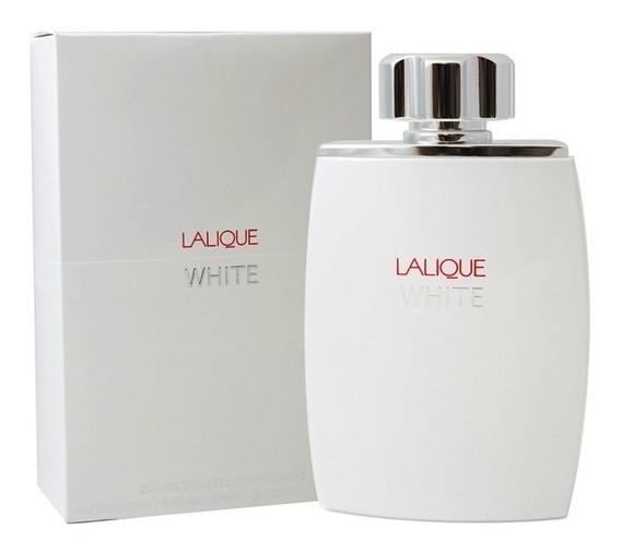 Perfume Lalique White Pour Homme Masculino Edt 125ml 12x