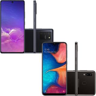 Samsung Galaxy S10 Lite 128gb + Samsung Galaxy A20 32gb