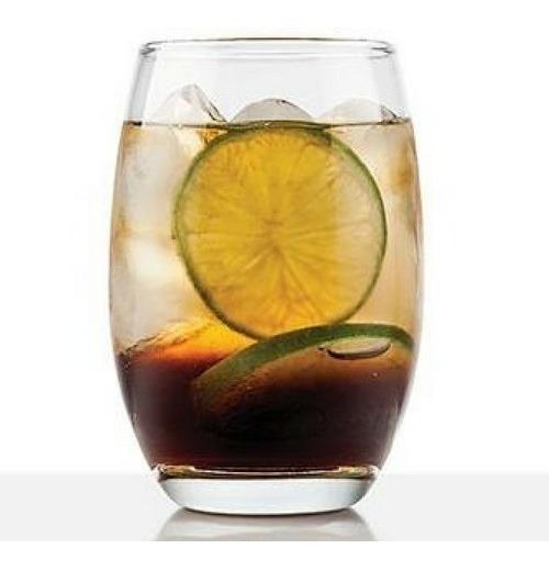 Copa Vaso Vino Whisky Agua Mikonos Largo Sin Tallo X 12 Unid
