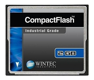 Tarjetas Compact Flash 2gb Wintec Grado Industrial