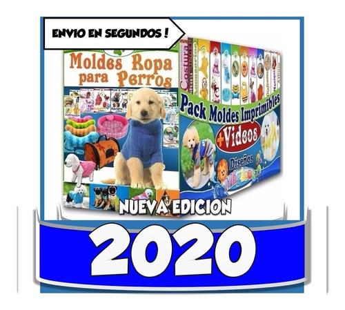Kit Imprimible Patrones Ropa Para Perros Tejido Videos Molde