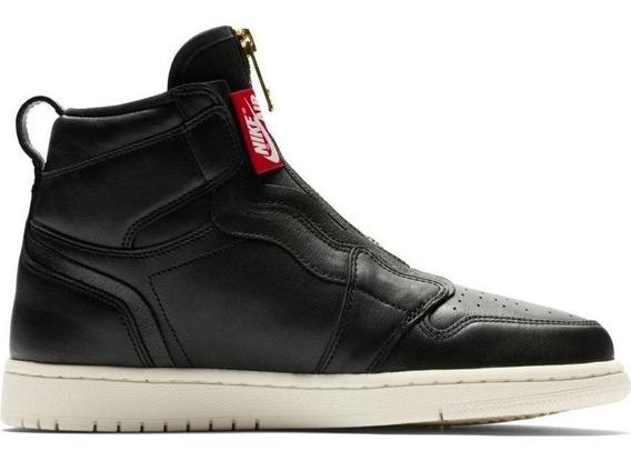 Tenis Air Jordan 1 High Zip Black 100% Originales