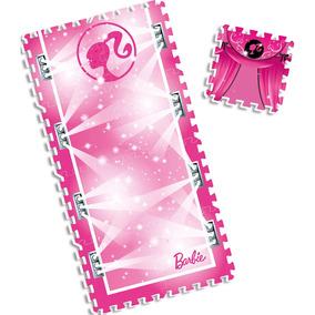 Tapete Em Eva Infantil Fun - 9 Peças - Barbie