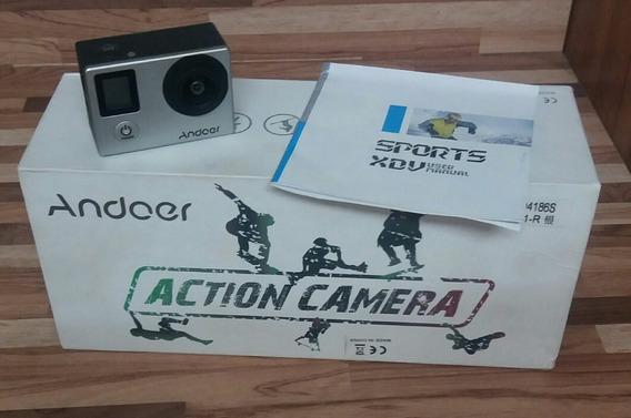 Câmera Digital Andoer 4k Wifi + Carregador + Bateria Extra