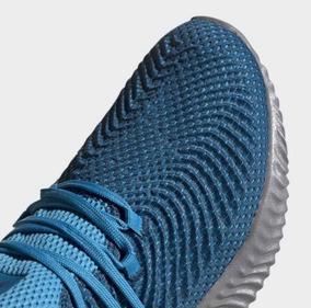 Tenis adidas Alphabounce Azul #26 Al 27.5 Cm 100% Originales