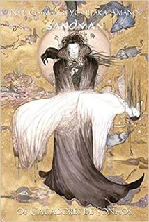Hq - Sandman - Os Caçadores De Sonhos - Yoshitaka Amano