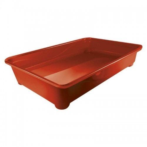 Banheira Gato Pop Furacao Pet Vermelha