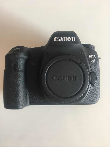 Câmera Canon Eos 6d