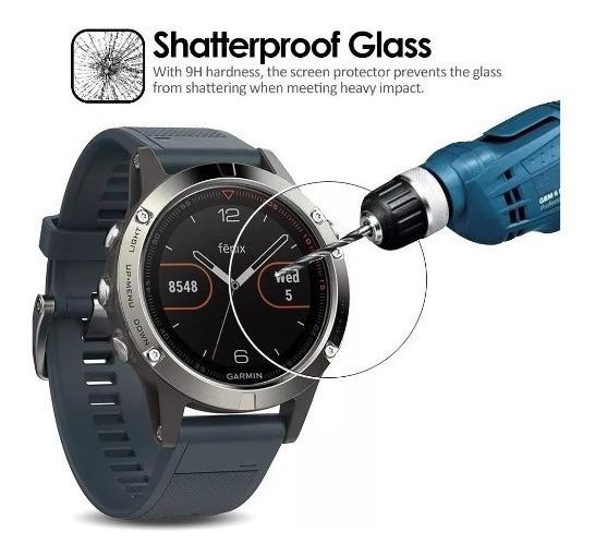 Mica Cristal Templado Reloj Garmin Fenix 3