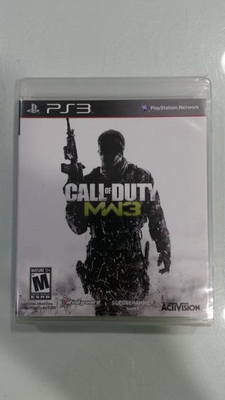 Jogo Ps3 Call Of Duty Mw 3 Novo Lacrado E Original Midia Fis