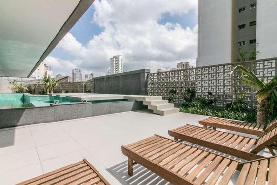 Apartamento Triplex Com 1 Dormitório À Venda, 97 M² Por R$ 1.287.000 - Perdizes - São Paulo/sp - At0012