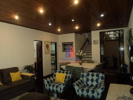 Sobrado Com 3 Dormitórios À Venda, 230 M² Por R$ 650.000,00 - Chácara Rodrigues - Americana/sp - So0049