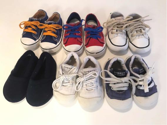 Zapatillas Nene Número 20. Muy Buen Estado! 6 Pares En Total