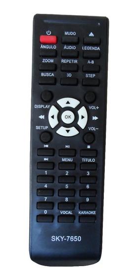 Controle Remoto Dvd Tectoy - Dvt-f650 Dvt-f651 Dvt-f800