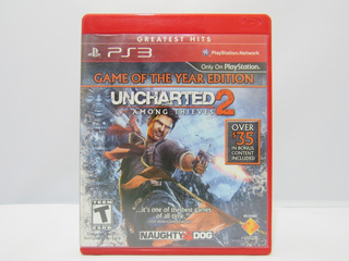 Uncharted 2: Among Thieves - Ps3 ¡fisico-usado! Caja Roja