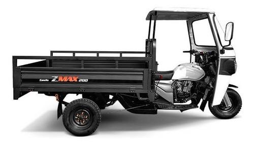 Zanella Zmax 200 S Truck Tricargo Financio 18 Ctas Permuto