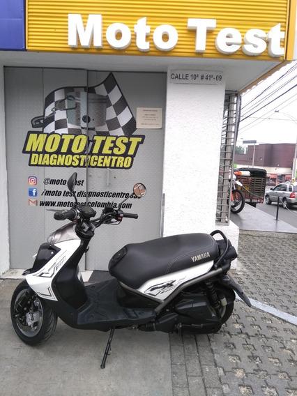 Yamaha Bws 125x Modelo 2016 Km 37.971