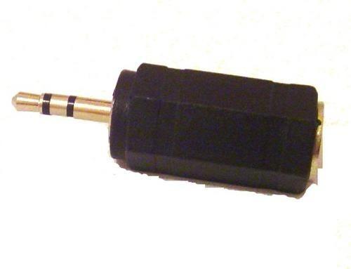 Adaptador P1 Stereo Para P2 Em Plástico