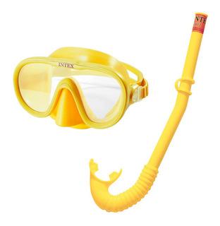Set Buceo Mascara Y Snorkel Adventure Intex