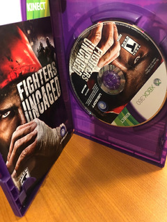 Fighters Uncaged Kinect Xbox 360