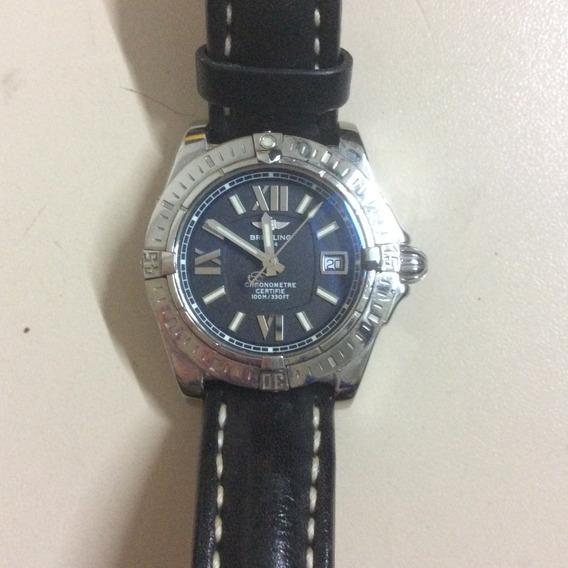 Relógio Breitling Cronometre A71356 Com Certificado