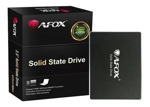 Imagem 1 de 1 de Ssd Afox 500gb 3 Sata Sd250 - Sd250-500gn