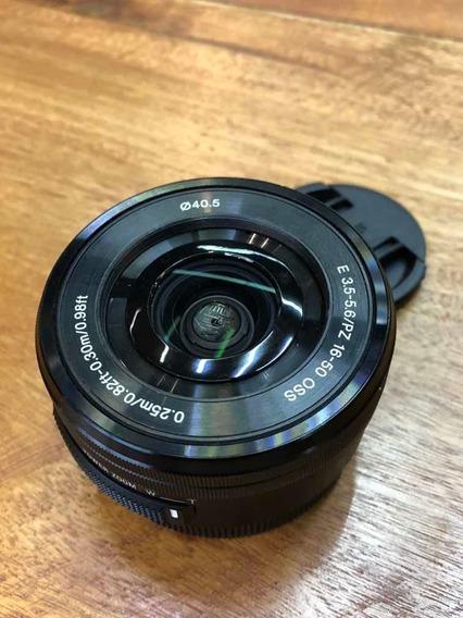 Lente Sony 16-50, 3.5-5.8 A6300 E A6500