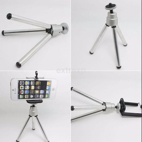 Mini Trípode Montaje Universal iPhone Samsung Lte Kamelia.me