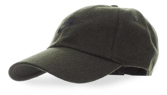 Gorra Nike H86 Futura Flannel - Ck1326355 - Verde Oliva - Un